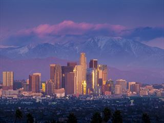 Los Angeles and Gabriel Mountains