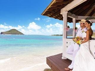 Oceanfront Wedding Gazebo at Coconut Bay