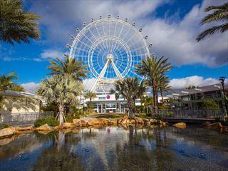 Orlando's newest attraction, the Orlando Eye