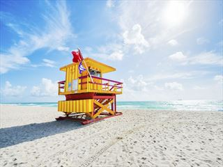 South Beach lifeguard station, Miami