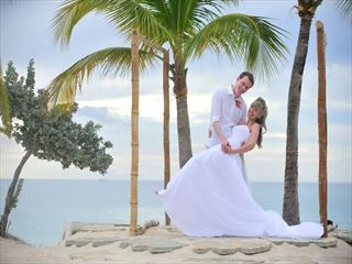 Bride & Groom at Spice Island