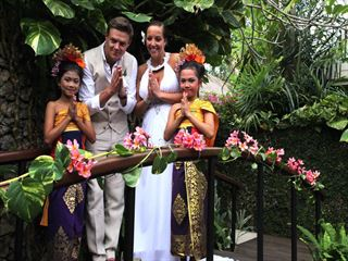 Balinese wedding celebrations at The Pavilion