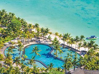 Aerial View of Trou Aux Biches Beachcomber Resort & Spa