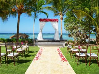 Wedding gazebo on the Coyaba Lawn
