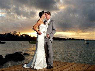 Wedding ceremony on the private island, Grand Zil