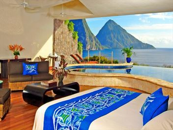 Luxury vacations in St Lucia