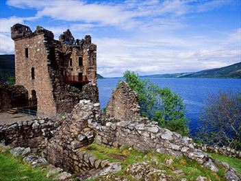 Exploring Loch Ness in search of the fabled monster