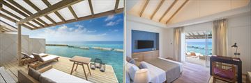 Water Villa Bungalow at Ellaidhoo Maldives by Cinnamon