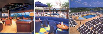Holland America Zaandam cruise ship facilities