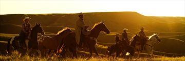 Horse Riding in La Reata Ranch, Saskatchewan