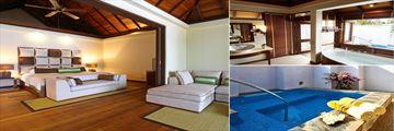 Beach Villa with Jacuzzi at Kurumba