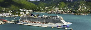 Norwegian Cruise Line in Tortola