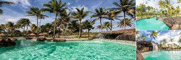 The pool at Palm Island Resort & Spa
