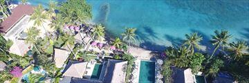 Puri Mas aerial view, Lombok