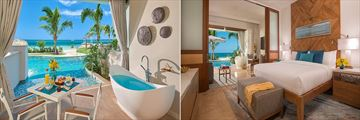 Beachfront Super Luxe One Bedroom Suite at Sandals Montego Bay