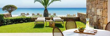 Sani Asterias Beachfront Suite