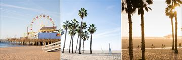Beautiful beaches of Santa Monica