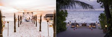 Private Dining at Shangri La Villingili Resort & Spa