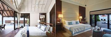 Premium Beach Villa and Deluxe Beach Villa at Taj Exotica Resort & Spa