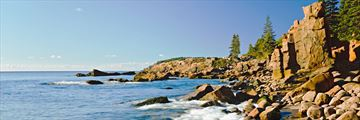 Acadia National Park's rocky coastline