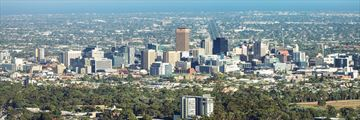 View of Adelaide skyline