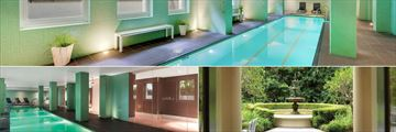Indoor Pool, Courtyard and Indoor Pool at Adina Apartment Hotel Adelaide Treasury