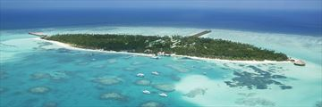 Meeru Island Resort & Spa, Aerial View of Island