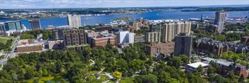 Aerial View of Halifax public gardens