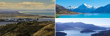 Christchurch, Mount Cook & Marlborough Sounds