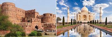 Agra Fort & Taj Mahal