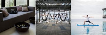 Spa Foot Soak, Aerial Yoga and Surf Yoga at Alila Villas Uluwatu