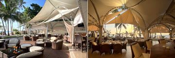 Sails Beach Bar and Restaurant at Almanara Luxury Resort