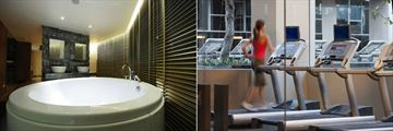 Anantara Bangkok Sathorn, Spa Jacuzzi and Fitness Centre