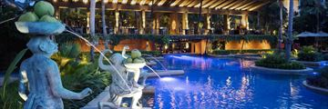 Anantara Bophut Koh Samui Resort, Full Moon Restaurant Overlooking the Pool