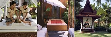 Anantara Hua Hin Resort, Anantara Spa Four Hand Signature Massage, Spa Treatment Suite and Spa Massage Pavilion
