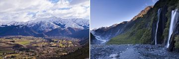 Arrowtown & Franz Josef Glacier, South Island