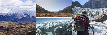 Arrowtown, Haast Pass, Southern Alps Flight & Hiking Fox Glacier