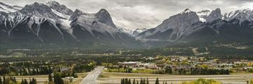 Canmore in the autumn