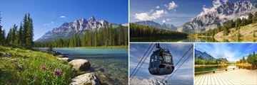 Banff National Park, Sulphur Mountain gondola & Kananaskis Trail