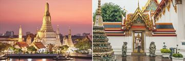 Beautiful architecture in Bangkok
