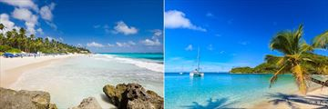 Barbados and Grenadines beaches