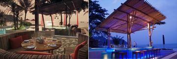The Bistro @ The Beach and Edge2O at Anantara Rasananda Koh Phangan Villas