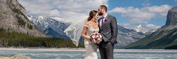 Beautiful mountain wedding in Canada