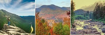Beautiful vistas and scenery in the White Mountains