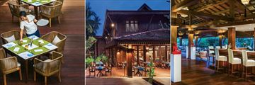 Belmond La Residence D'Angkor, Emer Restaurant, Spice Circle Restaurant and Martini Lounge