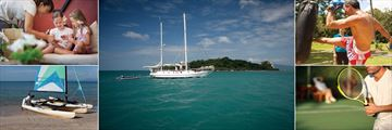 Belmond Napasai, Kids' Activities, Scuba Diving and Snorkeling Sailing Trips, Thai Boxing, Tennis and Watersports