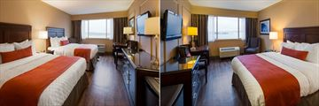 Best Western Dorchester Hotel, Standard Room Two Doubles and Standard Room One Queen