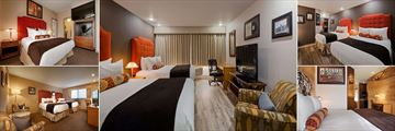 Guestrooms at Best Western Hollywood Hills