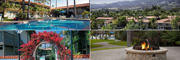 Best Western Plus Pepper Tree Inn, (clockwise from top left): Pool, Exterior, Firepit and Pool Entrance