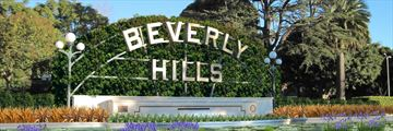 Beverly Hills lily pond sign